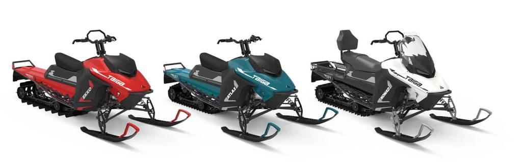 Taiga Motor motoslitte elettriche