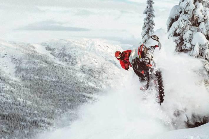 """TEST Ski Doo Summit X 850 E-Tec Turbo 154"""" Expert Pack"""
