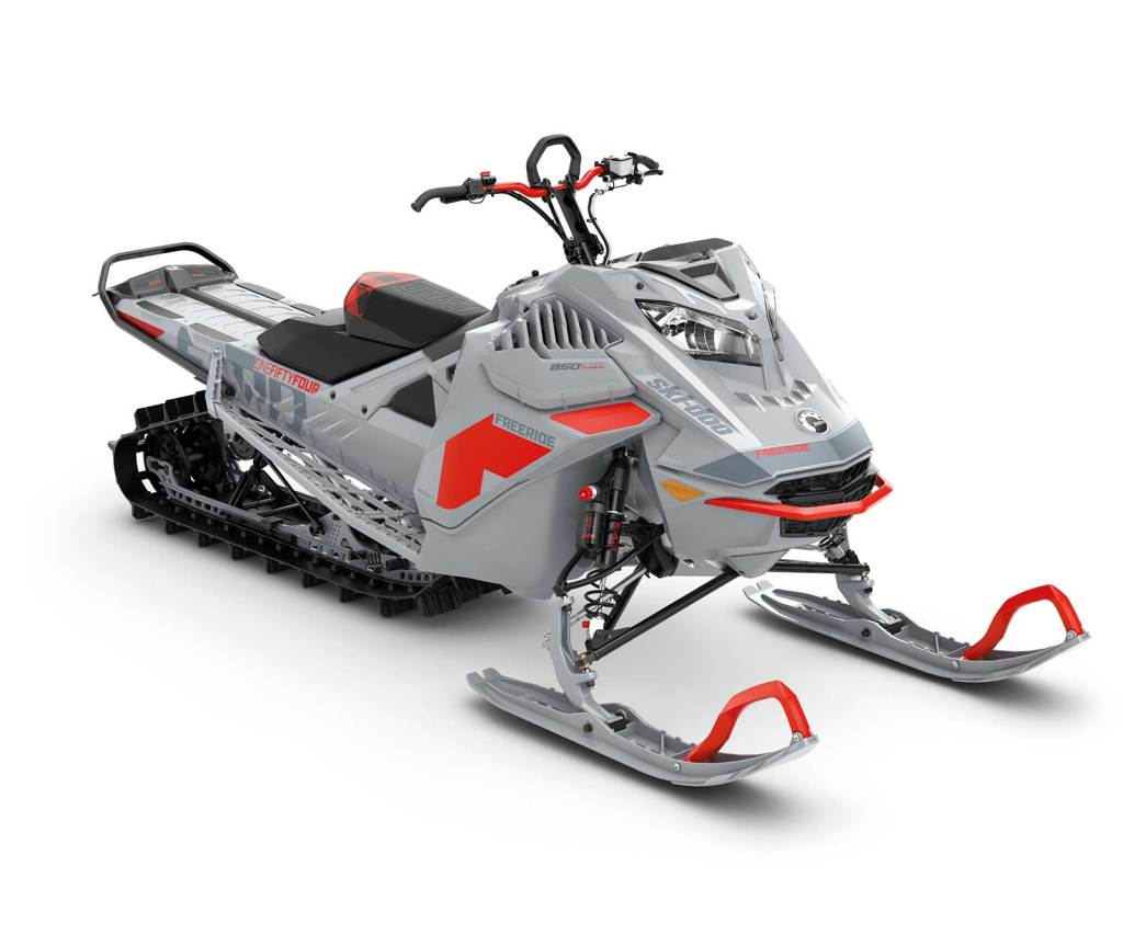 """Ski-Doo Freeride 154"""" e 165"""" 850 E-Tec Turbo 2021"""