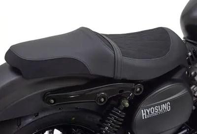 Selle Hyosung Aquila Bobber GV300S Noir mat