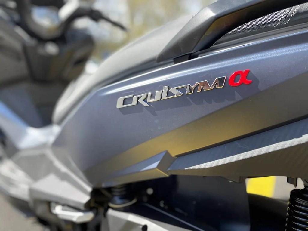 Flanc arrière gauche Sym Cruisym 125 ABS 2021