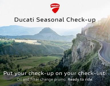 ducati check up