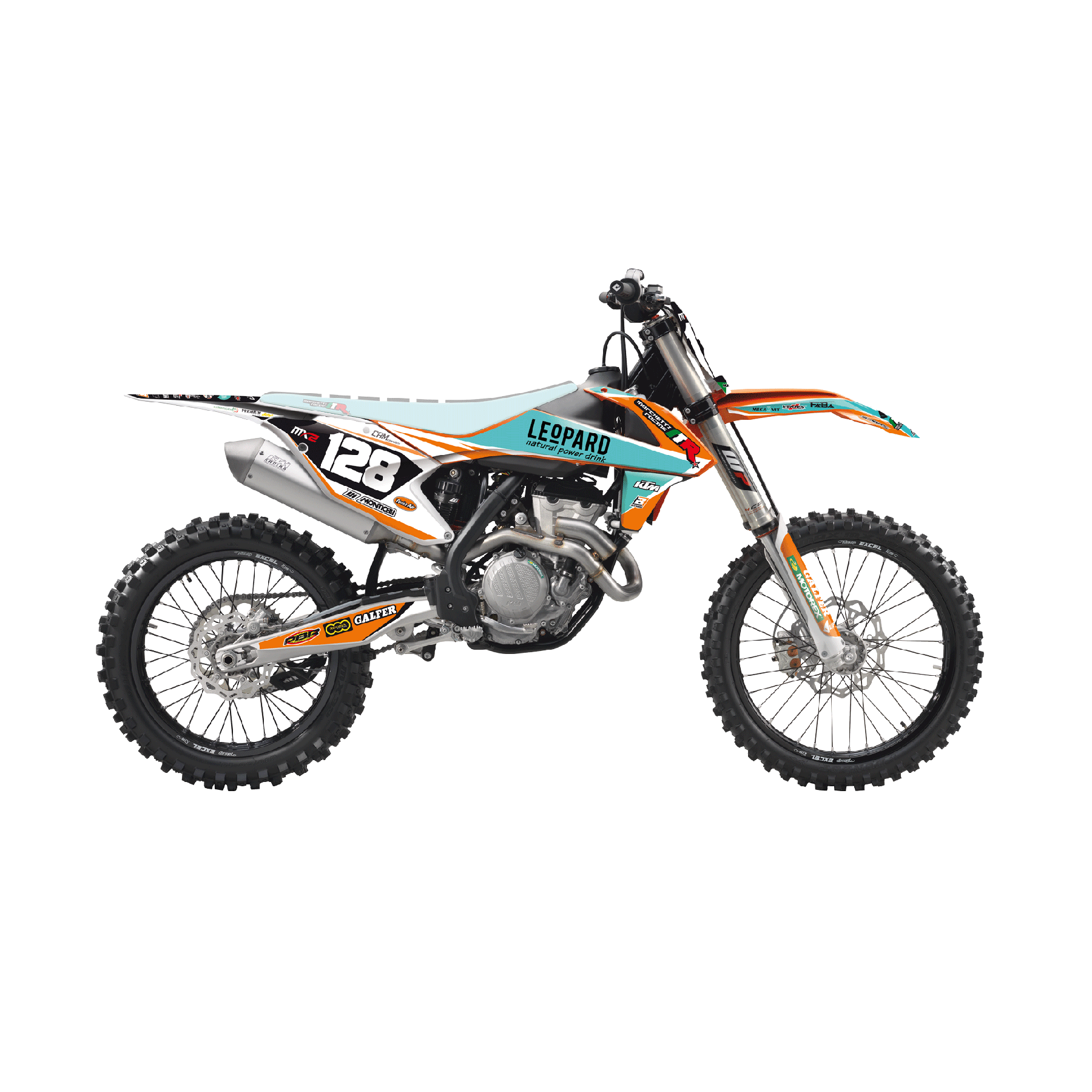 Blackbird Kit Adesivi Replica Ktm Marchetti Racing