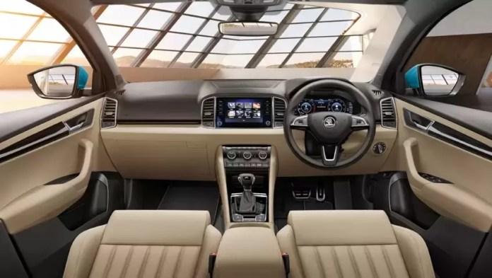 Skoda Karoq Interior with dashboard photo