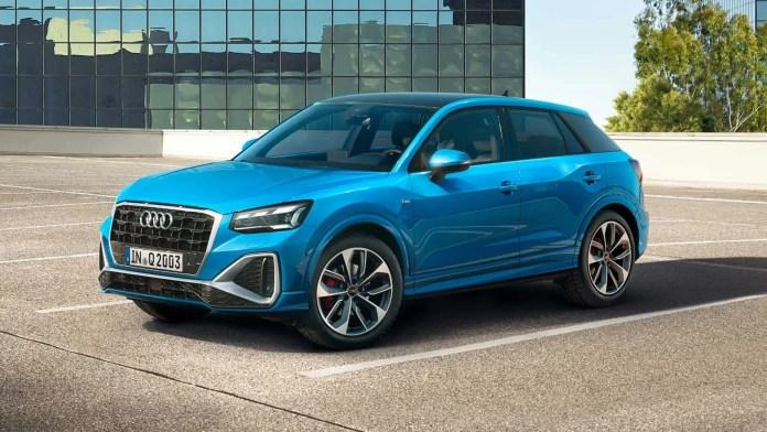 Audi Q2 Side