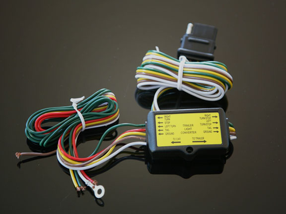 5 to 4 motorcycle trailer wire harness converter