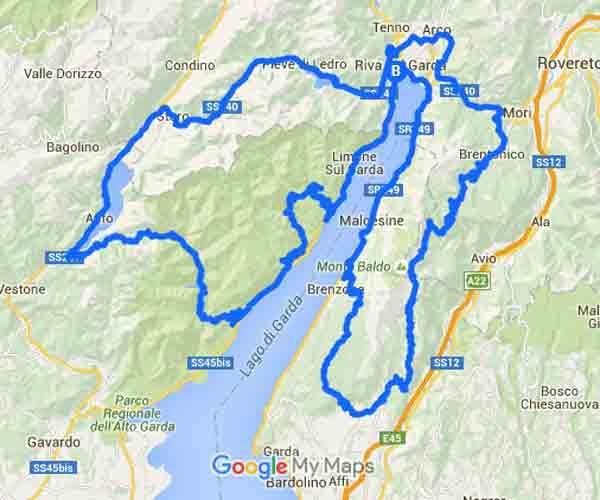 Le Curve E I Panorami In Moto Più Belli Del Lago Di Garda