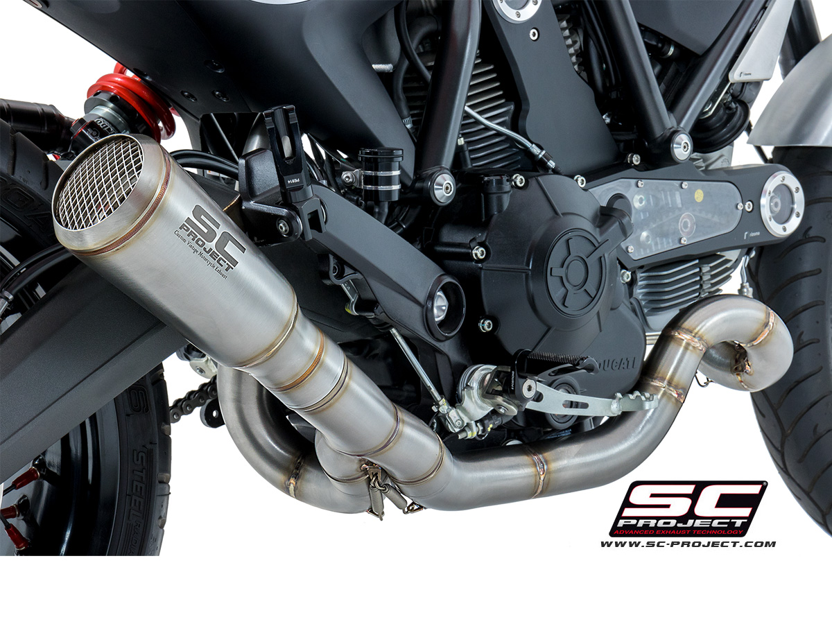 conic exhaust by sc project