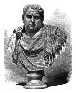 Fig. A. Empereur Vespasien, inventeur des vespasiennes.