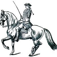Écrire une lettre à cheval [ekʁiʁ yn lɛtʁ a ʃəval]
