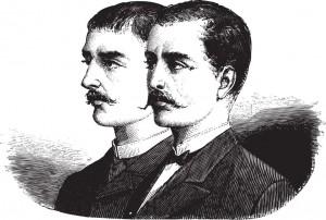 Fig. B. Hommes menant une vie de bâton de chaise (XVIIIe).