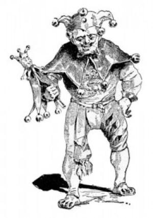 Fig. 1. Grotesque comique surjouant une bouffonnerie.