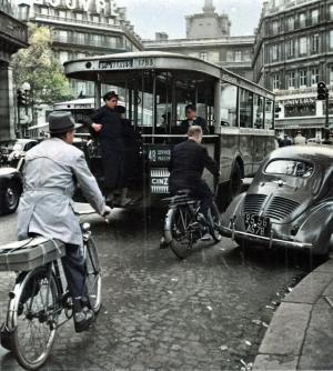 Le bus à plate-forme