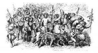 Fig. A. Bacchus chassant le ver-coquin des vignes et cultivant celui de son esprit.