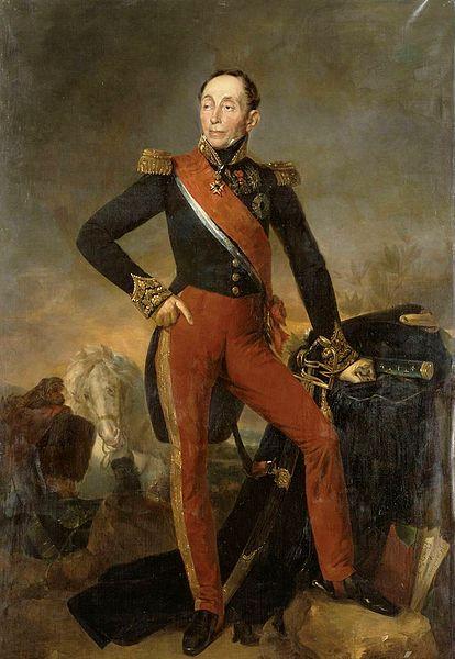 Arriver comme le marquis de Couille-Verte [aʁive kɔm lə maʁki də kujvɛʁt]