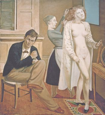 Balthus: Cathys Toilette, 1933 Centre Pompidou, Musée national d'art moderne – Centre de création industrielle, Paris © Balthus 2016 Bild © Mondadori Portfolio/Akg Images