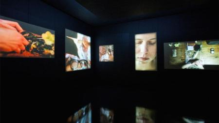 Five Truths Video Installation. Bild: © Gareth Fry