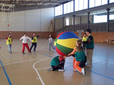 Omnikin - Kinball a educació física