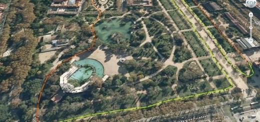 Cursa d'orientació al parc de la Ciutadella 2012