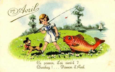 1er avril fête du poisson