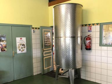 Cuve à huile - Moulin des Gorges Ardèche