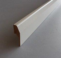 plinthe electrique passe cable revetue blanc 20 x 70 mm