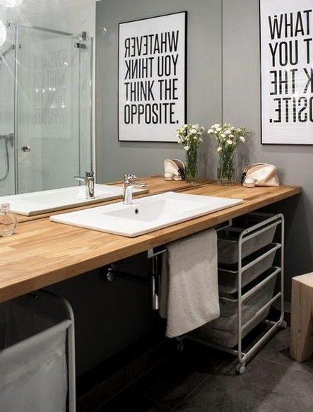 plan de travail salle de bain nos