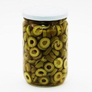 Sliced Olives – 0.6-Kg –