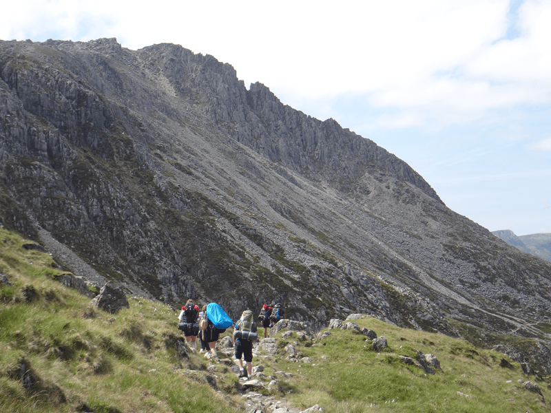 DofE at Mountain Water Expeditions