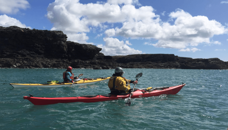 Sea Kayak Award Mountain Water Expeditions, Water Based Courses