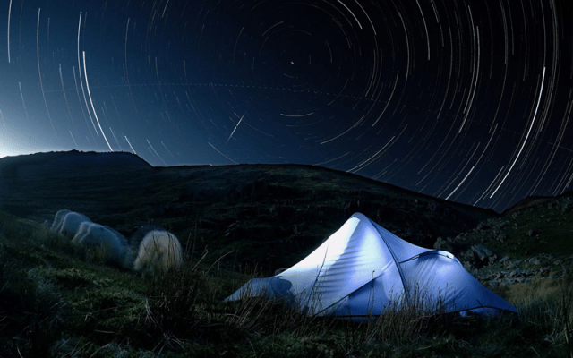 Wild Camping at Mountain Water Expeditions