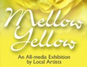 Santa Cruz Mountains Art Center Mellow Yellow exhibit