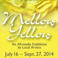 Santa Cruz Mountains Art Center Mellow Yellow exhibit