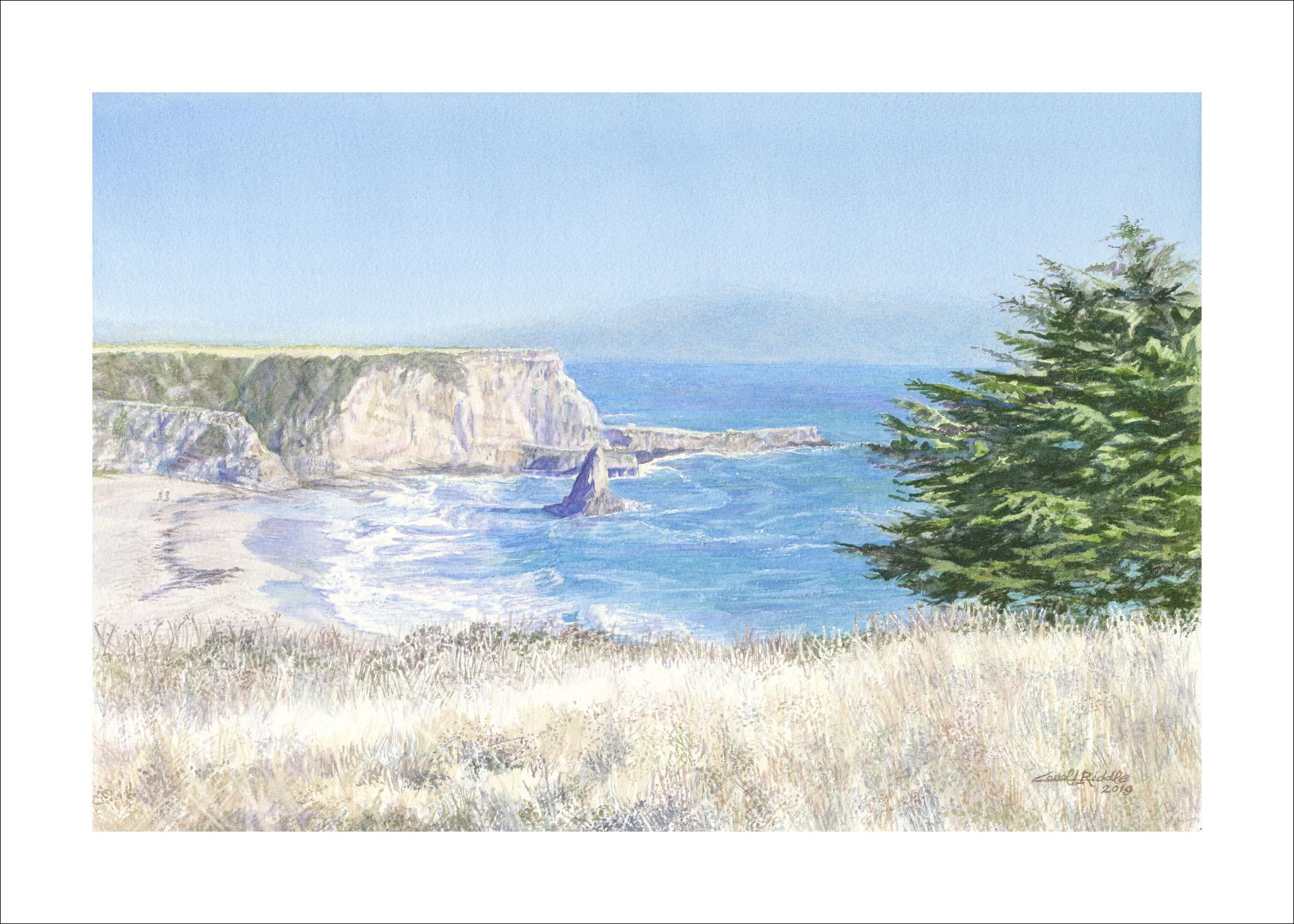 Davenport Beach - Carol Riddle