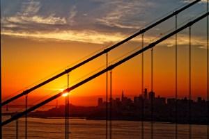 Golden Gate Sunrise - Brian Salisbury