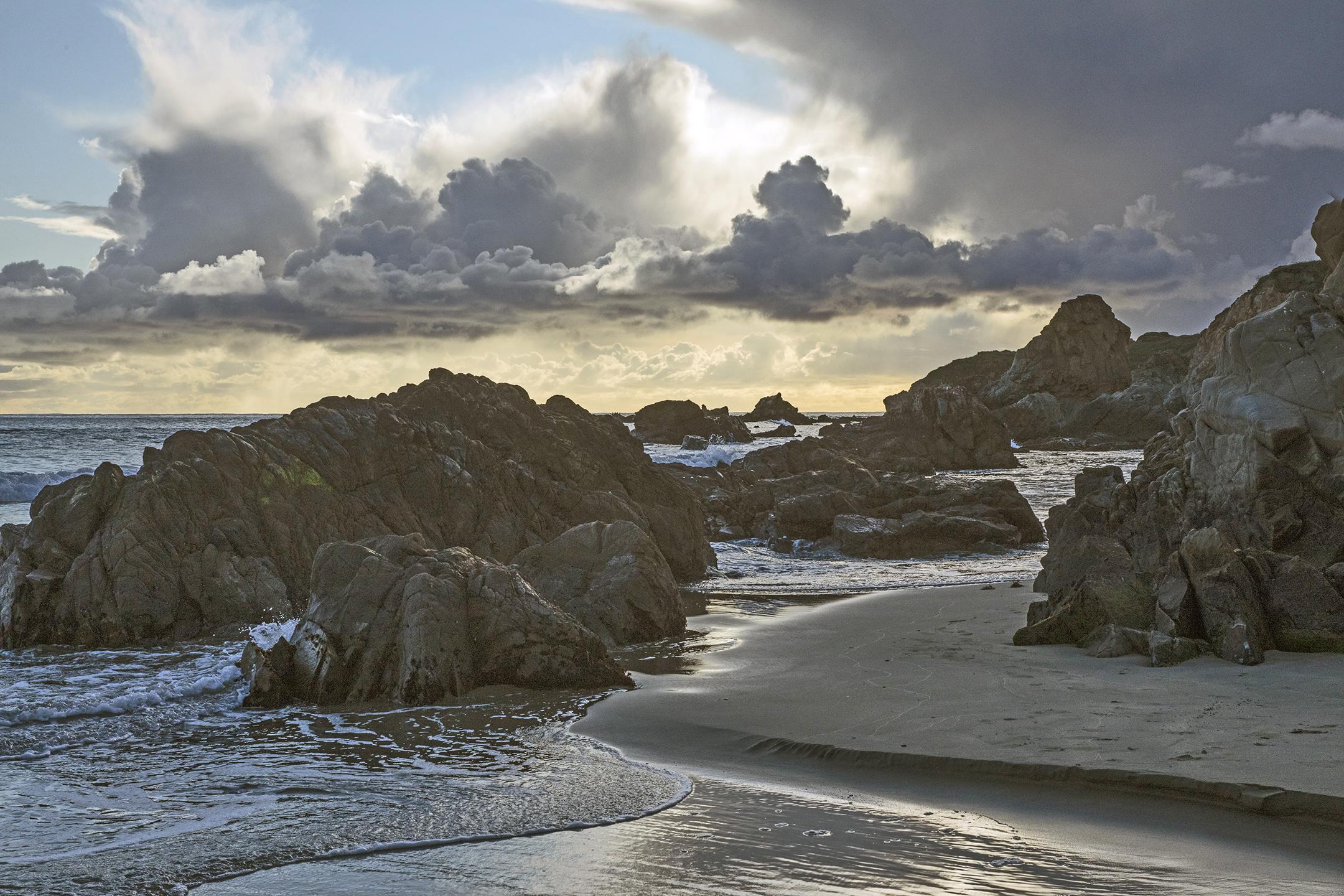 Whitehouse Creek Beach Sunset 1 - Carla Brennan