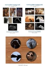 Greeting card sets and magnets - Karen Asherah