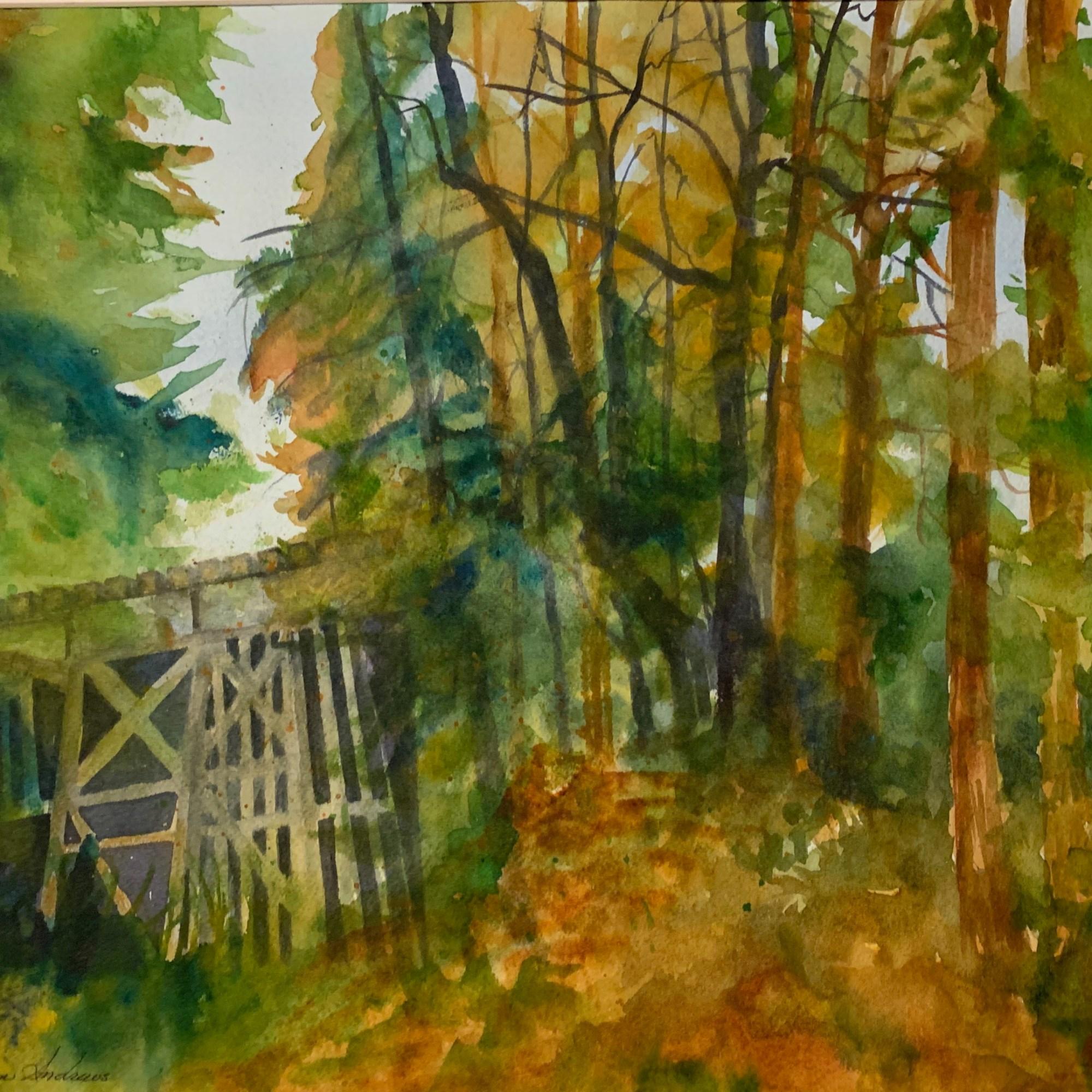 Railroad Bridge Hwy 9, Felton - Alisan Andrews