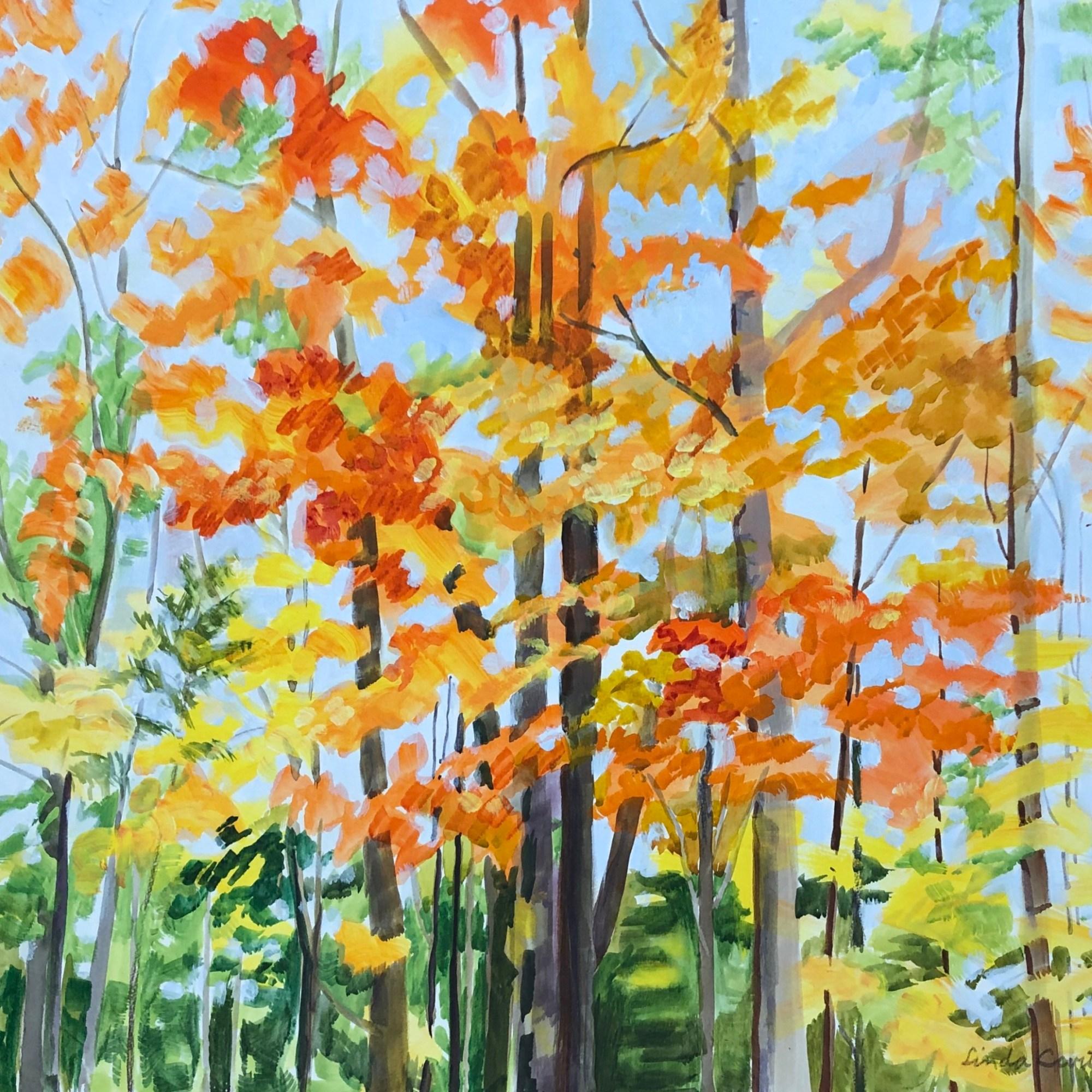 Splash of Fall - Linda Curtis