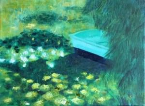 Monet's Boat - Janice Matthews