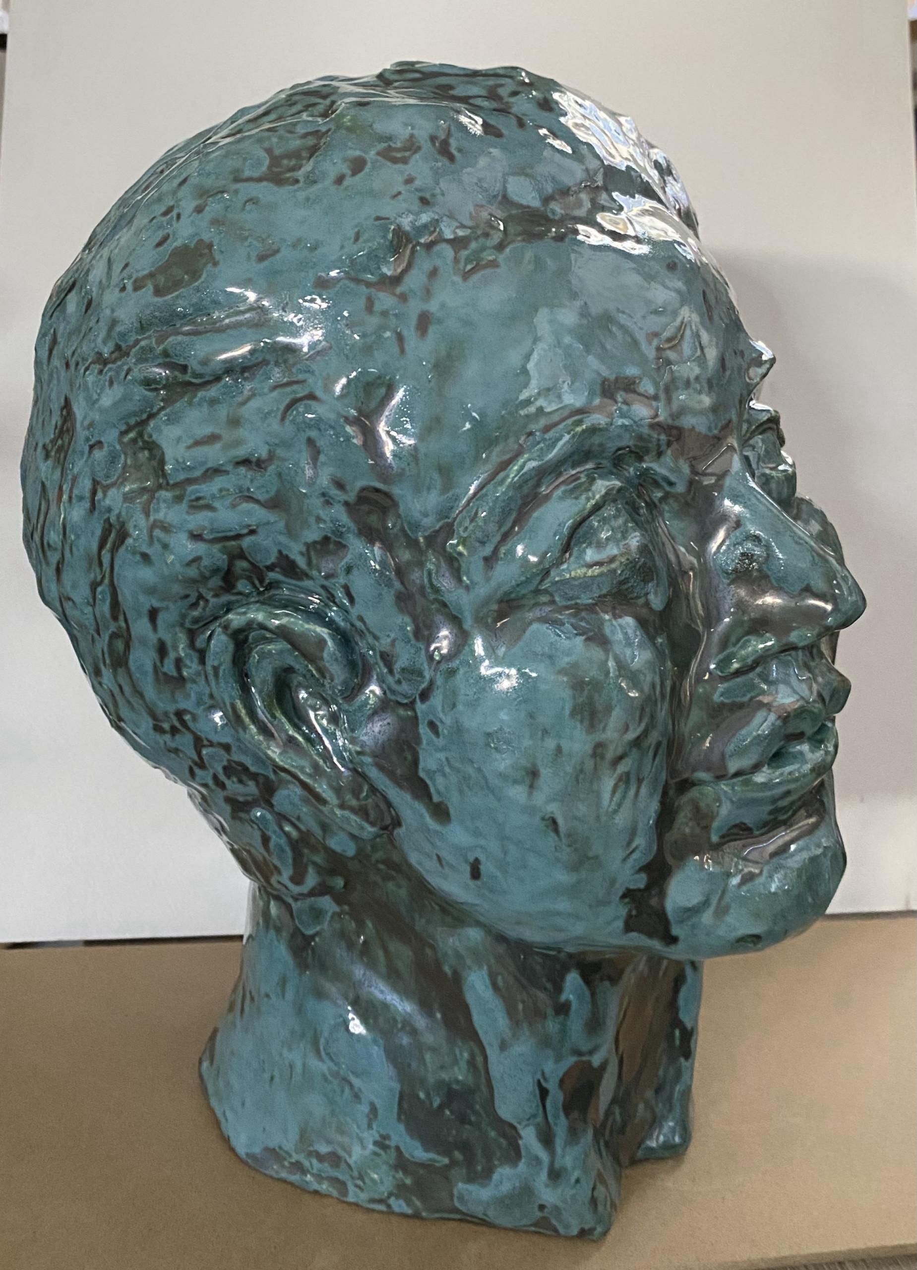 Jules's Portrait - Martine Mahoudeau