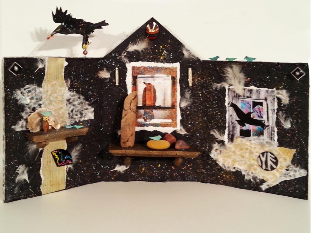 Raven Altar - Linda A. Levy