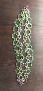 Recycled Glass Table Runner II - April Zilber