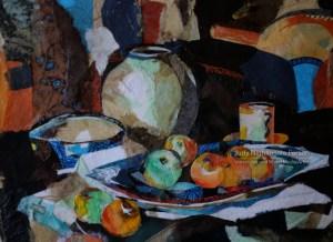 Still Life after Peploe - Judy Nightingale Person