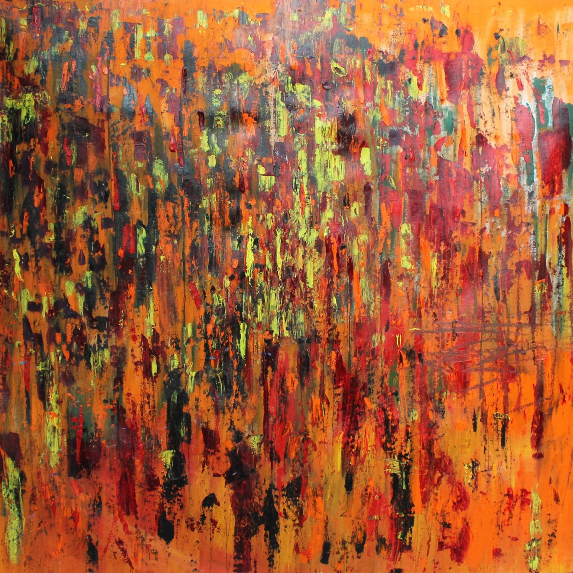 Men Watching It Burn - William Bryant