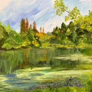 Quail Hollow Pond - Alisan Andrews