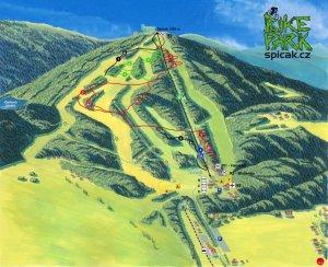 bikemap Spicak