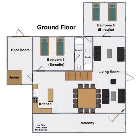 Ground Floor Chalet Cornillon