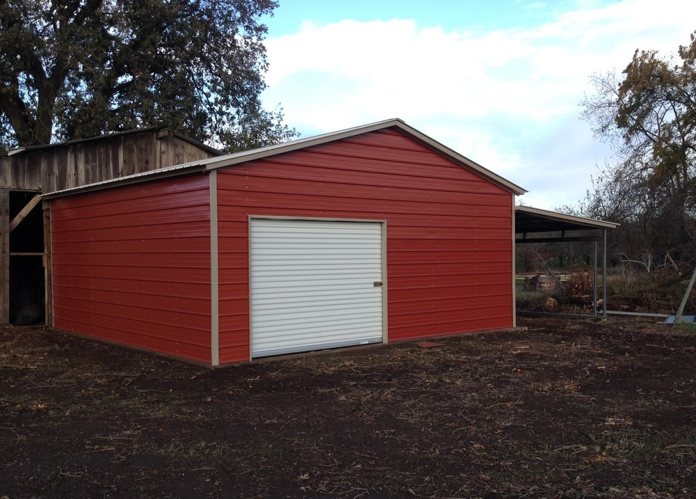 Red Barn Addition Mountain Charlies Sheds