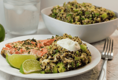 Green Goodness Quinoa Salad   Mountain Cravings